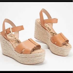 Sam Edelman Maura Wedge Sandals Size 6.5